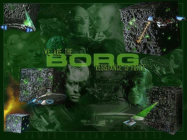 Borg collective consciousnesss starfleet commander - We are the borg quote ...